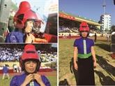 Un casque spécial pour les femmes Thai