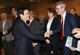 Le président Truong Tân Sang entame une visite d'État en Allemagne