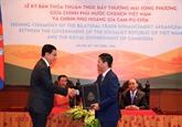 Vietnam et Cambodge signent un accord de promotion du commerce