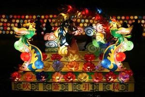 Festival des lanternes géantes de la République de Corée à Hanoï