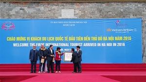 Hanoi accueille plus de 300.000 touristes à l'occasion du Nouvel An lunaire