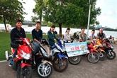 Des mototaxis-étudiants à 15.000 dôngs la course à Huê