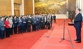 Vœux du Têt au personnel des organes de l'Assemblée nationale