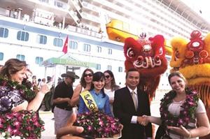 Saigontourist accueille sa première croisière de 2017