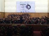Concert de l'Orchestre des lycées français du monde à Hô Chi Minh-Ville