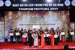 Honneur aux 100 meilleures marques touristiques de Hô Chi Minh-Ville