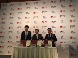 Inauguration du bureau de représentation de lOffice national du tourisme japonais au Vietnam