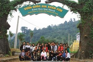 Le Parc national de Xuân Son, un site d'écotourisme à Phu Tho
