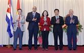 L'Association d'amitié Vietnam - Cuba a une nouvelle présidente