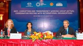 Lutte contre la corruption: assistance technique, facteur extrêmement important