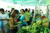 Ouverture du marché forain des produits agricoles sûrs