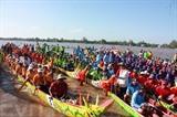 La 10e Fête culturelle, sportive et touristique des Khmers s'ouvre le 14 novembre dans la province de Kiên Giang (Sud). Photo : VNA/CVN