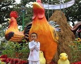 La foire aux fleurs du printemps de Nha Trang, province centrale de Khanh Hoà, se tient du 20 janvier (23e jour du 12e mois lunaire) au 1er février (5e jour du 1er mois lunaire) dans le parc Yên Phi.  Photo : Phan Sau/VNA/CVN