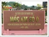 Kilomètre Zéro : point de départ de la piste légendaire Hô Chi Minh