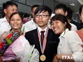 Le Vietnam primé aux 45e Olympiades de physique