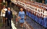 La présidente chilienne à Cuba
