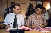 Guadeloupe : signature de l'accord appelant