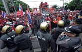 Début d'un grand rassemblement à Bangkok
