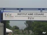 Haïti : l'IFGCar, un institut universitaire en hommage à Aimé Césaire