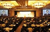 Nguyên Tân Dung à la conférence sur l'avenir de l'Asie