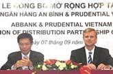 Développement de la bancassurance
