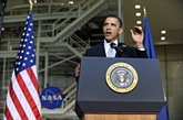 Espace : ambitions américaines autour de Mars en 2035