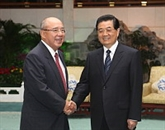 Chine : Hu Jintao rencontre le président honoraire du Parti nationaliste