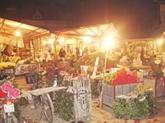 Hanoi : le marché aux fleurs nocturne Quang Ba