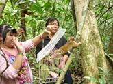 Éducation à la nature dans le Parc national de Cat Tiên