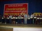 Les bourses Odon Vallet aux jeunes vietnamiens