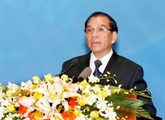 Nông Duc Manh à la cérémonie du80e anniversairedu FPV