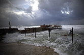 Une violente tempête s'abat sur le Proche-Orient