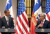 Au Chili, Obama séduit l'Amérique latine