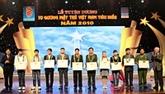 Distinction de dix jeunes vietnamiens de 2010
