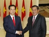 Vietnam-Cambodge : fin de la démarcation et du bornage frontaliers en 2012