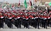 """Manifestation des sadristes contre """"l'occupation"""" américaine en Irak"""