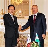 L'Ouzbékistan et la Corée du Sud ont signé un accord sur le gaz