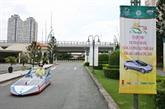 Hô Chi Minh-Ville : premier concours de véhicules fonctionnant à l'énergie solaire