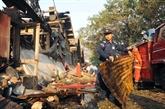 Une explosion fait 17 morts à Rangoon