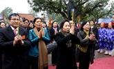 Commémoration du 1972e anniversaire de l'insurrection des deux Soeurs Trung