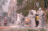 Un atelier de sculpture pour l'amitié Vietnam-Laos