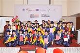 Remise du diplôme de Master en banques finances à 86 étudiants
