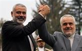 L'Iran réaffirme son soutien aux Palestiniens