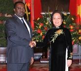 Vietnam-Angola : entretien entre les deux vice-présidents