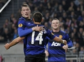 Europa League : Manchester United se distingue, City sans briller
