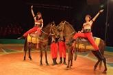 Le cirque vietnamien brille malgré des difficultés