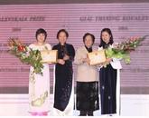 Le prix Kovalevskaï à deux femmes scientifiques