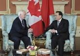 La Chine et le Canada vont promouvoir leurs relations à travers les échanges culturels
