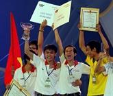 Robocon : le 1er prix pour l'Université Lac Hông