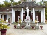 La maison commémorative de  l'Oncle Hô construite par un ancien combattant
